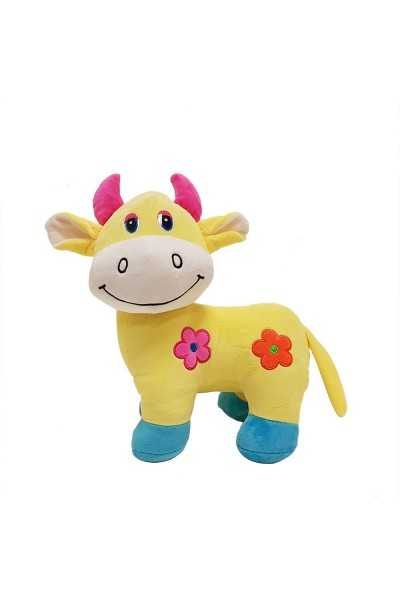 Personalised cow plush toy