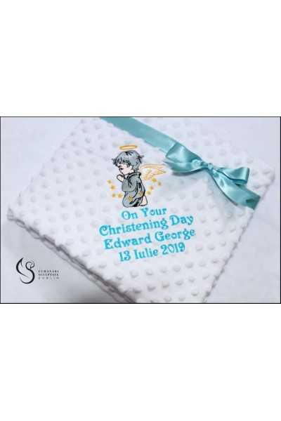 Turquoise Christening Day...