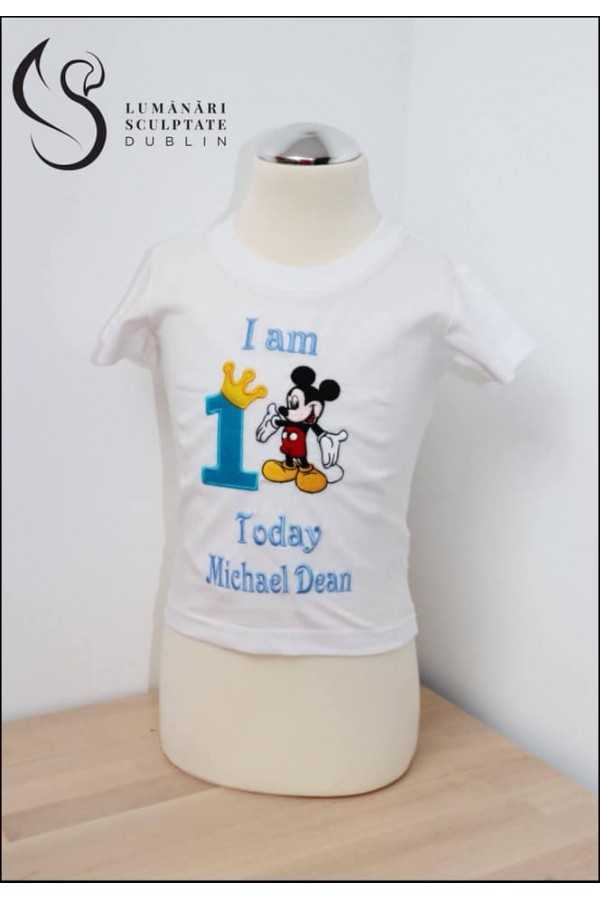 Mickey Mouse Birthday T-shirt
