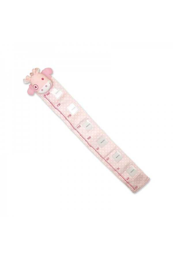 Personalised Pink Height Chart