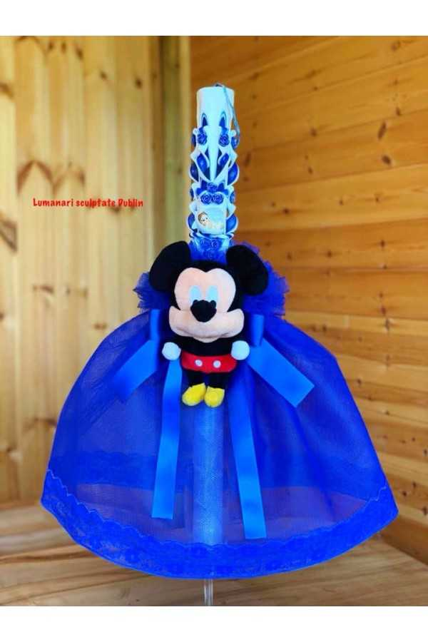 Mickey Mouse Carved Christening...